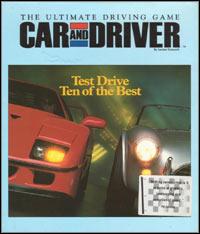 Okładka Car and Driver (PC)