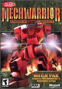 Okładka MechWarrior 4: Inner Sphere Mech Pak (PC)