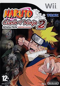 Game Box for Naruto: Clash of Ninja Revolution 2 (Wii)