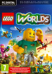 Game LEGO Worlds (PC) cover