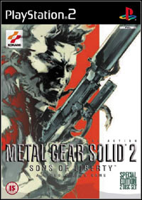 Game Box for Metal Gear Solid 2: Sons of Liberty (PS2)