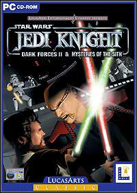Game Box for Star Wars Jedi Knight: Dark Forces II (PC)