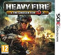 Okładka Heavy Fire: The Chosen Few 3D (3DS)