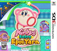 Game Box for Kirby's Extra Epic Yarn (3DS)