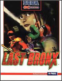 Okładka Last Bronx (PC)
