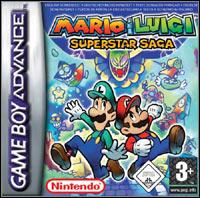 Okładka Mario & Luigi: Superstar Saga (GBA)