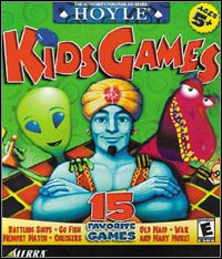 Okładka Hoyle Kids Games (PC)