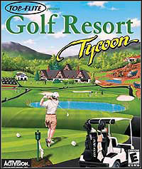Game Box for Golf Resort Tycoon (PC)