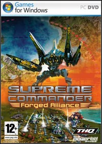 Okładka Supreme Commander: Forged Alliance (PC)