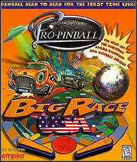 Game Box for Pro Pinball: Big Race USA (PC)