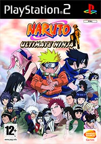 Game Box for Naruto: Ultimate Ninja (PS2)