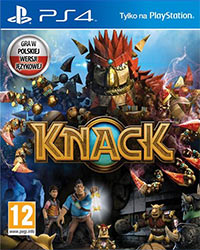 Game Box for Knack (PS4)