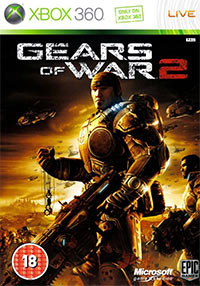 Okładka Gears of War 2 (X360)