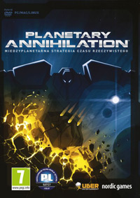 Okładka Planetary Annihilation (PC)
