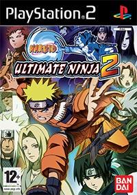 Game Box for Naruto: Ultimate Ninja 2 (PS2)