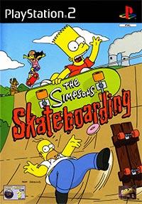 Okładka The Simpsons Skateboarding (PS2)