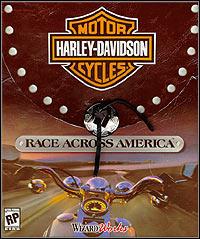 Okładka Harley Davidson: Race Across America (PC)