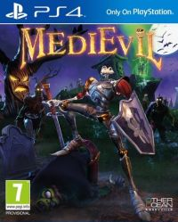 Game Box for MediEvil (PS4)