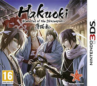 Okładka Hakuoki: Memories of the Shinsengumi (3DS)