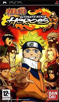 Okładka Naruto: Ultimate Ninja Heroes (PSP)