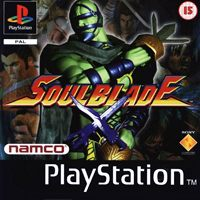 Game Box for Soul Blade (PS1)