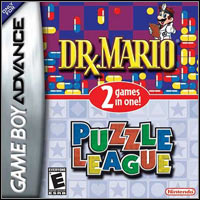 Game Box for Dr. Mario / Puzzle League (GBA)