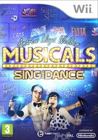 Okładka Andrew Lloyd Webber Musicals: Sing & Dance (Wii)