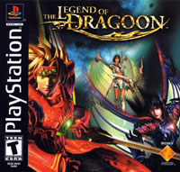 Game Box for The Legend of Dragoon (PS1)