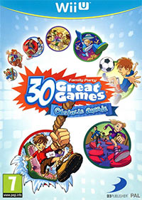 Game Box for Family Party: 30 Great Games Obstacle Arcade (WiiU)