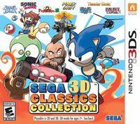 Okładka Sega 3D Classics Collection (3DS)