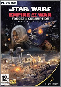 Okładka Star Wars: Empire at War - Forces of Corruption (PC)