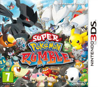 Game Box for Super Pokemon Rumble (3DS)
