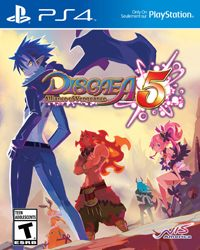 Game Disgaea 5: Alliance of Vengeance (PS4) cover