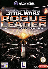 Game Box for Star Wars Rogue Leader: Rogue Squadron II (GCN)