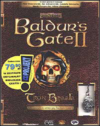 Okładka Baldur's Gate II: Throne of Bhaal (PC)