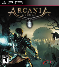 Game Arcania: A Gothic Tale (PC) cover