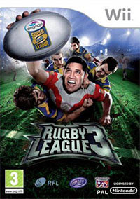Game Box for Rugby League 3 (Wii)