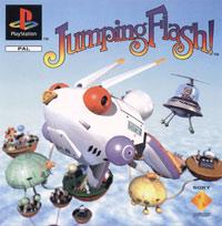 Okładka Jumping Flash! (PS1)