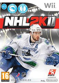Okładka NHL 2K11 (Wii)