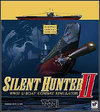 Okładka Silent Hunter II: WWII U-Boat Combat Simulator (PC)