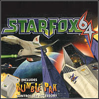 Okładka Star Fox 64 (Wii)