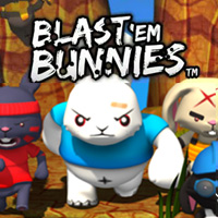 Game Blast 'Em Bunnies (3DS) cover