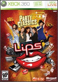 Okładka Lips: Party Classic (X360)