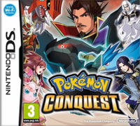 Game Box for Pokemon Conquest (NDS)