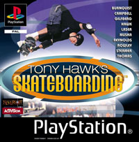 Game Box for Tony Hawk's Skateboarding (PS1)