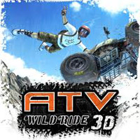 Game Box for ATV Wild Ride 3D (3DS)