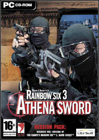Game Box for Tom Clancy's Rainbow Six 3: Athena Sword (PC)