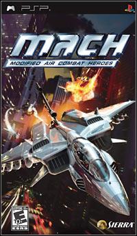Okładka M.A.C.H.: Modified Air Combat Heroes (PSP)