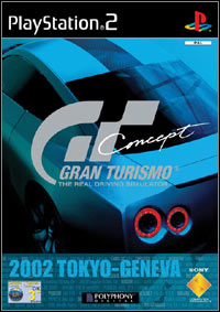 Game Box for Gran Turismo Concept 2002 Tokyo-Geneva (PS2)