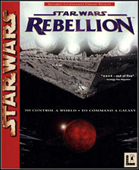 Okładka Star Wars: Rebellion (PC)